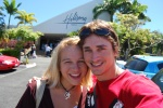 Me and Johan after the morning service at the Brisbane Hillsong Church