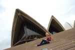 Chillin in Sydney at the Opera House