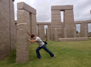 In Esperance they have a life size Stonehenge. How cool?
