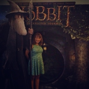 Got to see The Hobbit and also met Gandalf... who knew! :P lol...