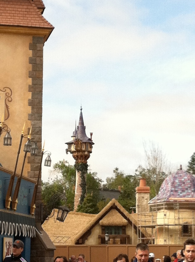I love this shot soooo much! It is Rupunzel's tower.