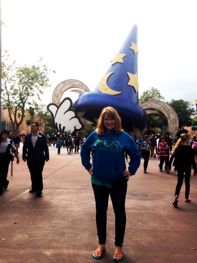 Me at MGM Studios, Disney World, Florida.